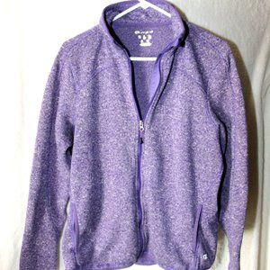 Purple Champion Fleece Jacket